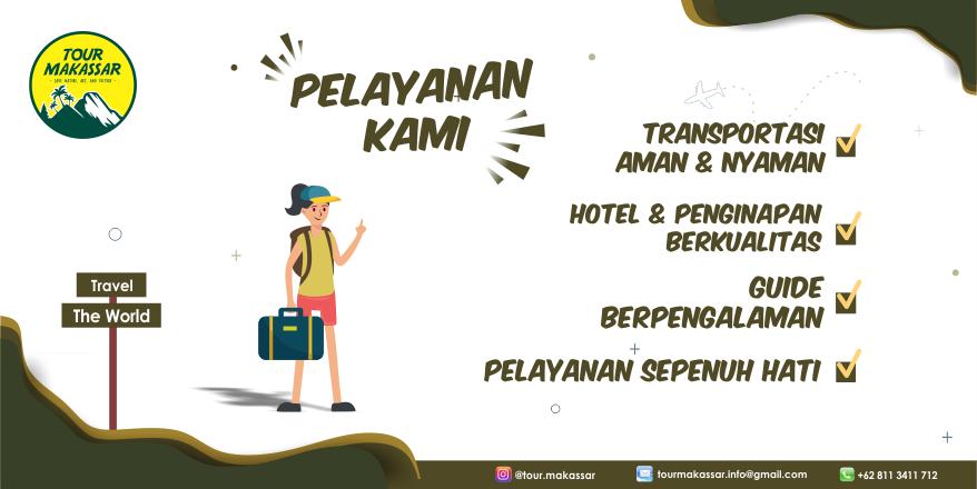Paket Wisata Makassar, Paket Gathering Makassar, Open Trip Makassar. www.tourmakassar.com 08113411712